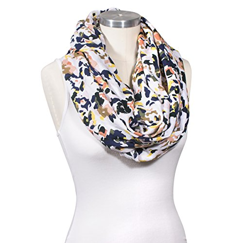 Bebe au Lait Premium Muslin Nursing Scarf, Lightweight and Breathable Cotton, One Size Fits All - Indigo