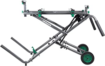 Hitachi UU240R Heavy Duty Fold & Roll Universal Miter Saw Stand (Discontinued by the..