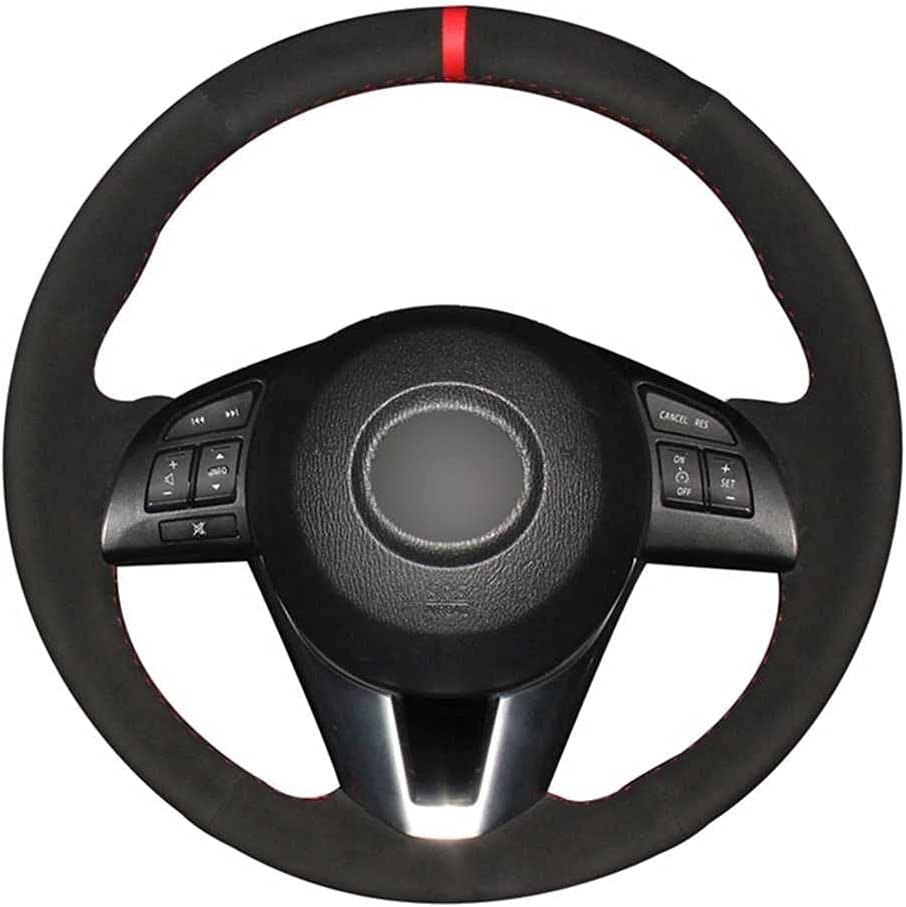 SAXTZDS Car Steering Wheel Cover Fit 6 3 Cheap mail order sales Luxury Mazda A Axela for