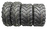 Set of 4 WANDA ATV Tires AT 23x7-10 Front...