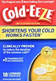 Cold-EEZE Cold Remedy Lozenges Honey Lemon, 18 Count