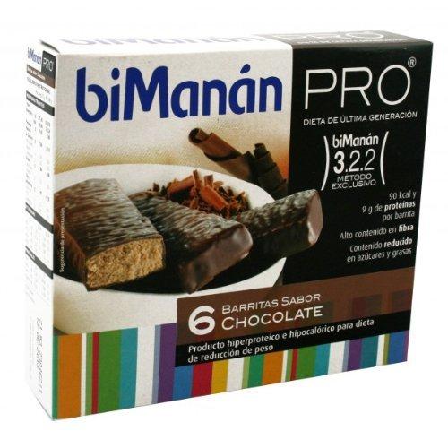 BIMANAN PROTEIN DIET CHOCOLATE BAR PRO hypocaloric GX 162 G 27 6 U by BIMANAN by Unknown