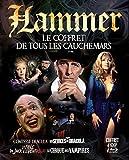 Hammer : Le coffret de tous les cauchemars : Comtesse Dracula + Les sévices de Dracula + La fille de Jack l'éventreur + Le cirque des vampires [Francia] [Blu-ray]