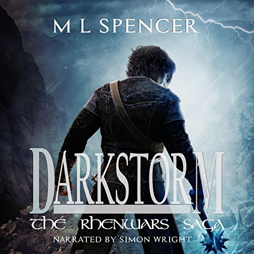Darkstorm audiobook cover art