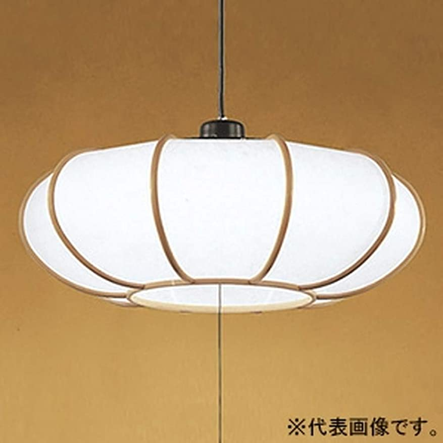 カレンダーアクティブ約設定ODELIC オーデリック 和風LEDペンダントライト フレンジ ランプ一体型 ~6畳 段調光 昼白色 OP252177
