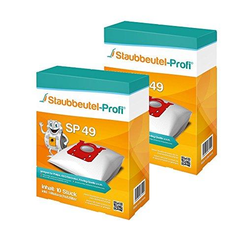 20 Staubsaugerbeutel SP49 von Staubbeutel-Profi® kompatibel zu Swirl PH86, Swirl PH96, Swirl E82, Swirl VO75