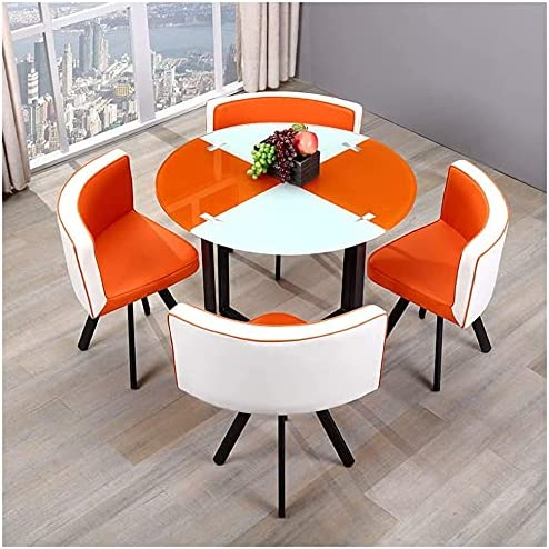 LXYYY Round Dining Table and Furnitur Attention brand Ultra-Cheap Deals Chair Room Set Home