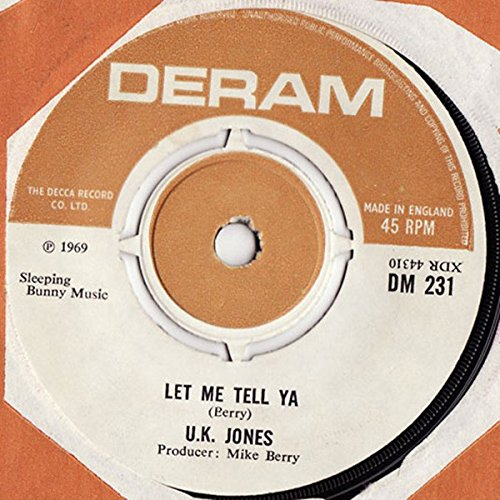 Let me tell ya / And the rains came down / DM 231