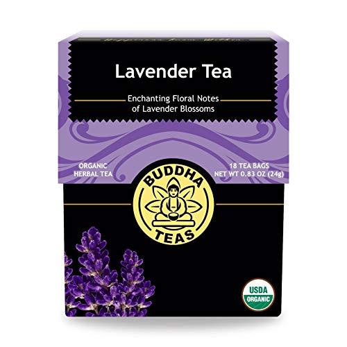 Buddha Teas Organic Lavender Tea | 18 Tea Bags