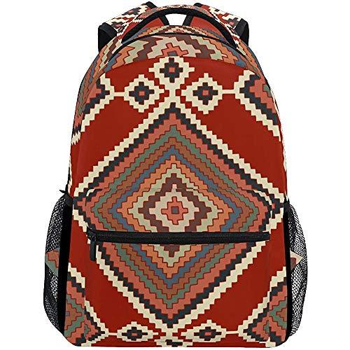 Daypacks Kelim Diamond Student Leichte Reiseschule Rucksack College Taschen Casual Durable