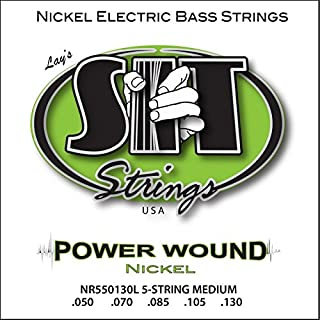 SIT Strings S.I.T. Stay In Tune NR550130L 5-String Medium Power Wound Nickel Bass (