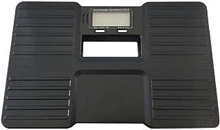BINGFANG-W Con un Peso de Escala Escalas compactas, de precisión electrónica báscula de baño del Cuerpo Humano, Portátil báscula de baño Body Health, MAX 150Kg Negro Cocina