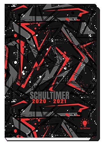Trötsch Schülerkalender Für Schlaue Dark 2020/2021: Schulplaner Hausaufgabeheft Timer Terminkalender