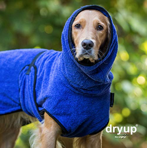 Actionfactory dryup Cape Hundebademantel (Red Pepper, XXL)