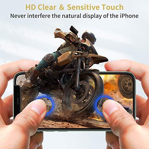 UNBREAKcable Panzerglas [3er Pack] Panzerglasfolie Kompatibel mit iPhone 12 Mini (5.4 Zoll), 2.5D Double Defense Series Displayschutzfolie, Kratzfest, Anti-Fingerprint und blasenfrei