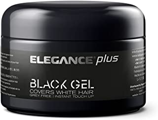 Elegance Plus Gel and Color, Black, 3.5 Ounce
