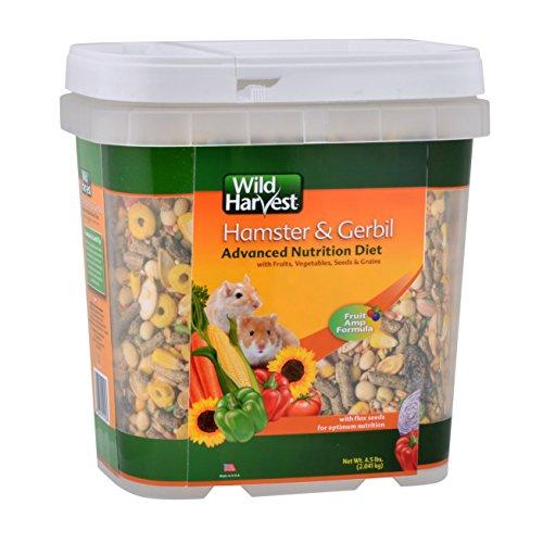Wild Harvest Wh-83543 Wild Harvest Advanced Nutrition Diet For Hamsters Or Gerbils, 4.5-Pound