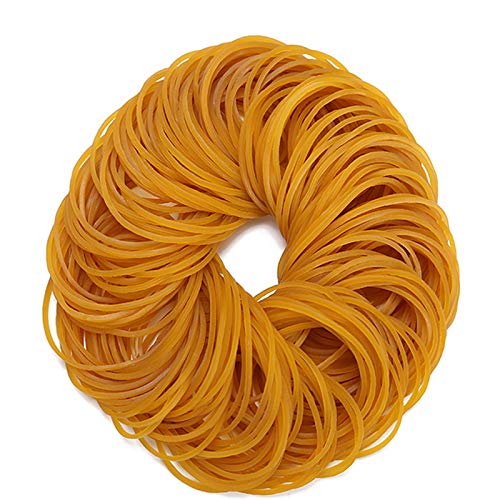 AMUU Rubber Bands 500pcs size19 50mm 2 inch Rubber Bands Small Rubber Band for Office Supplies School Home Elastic Hair Band