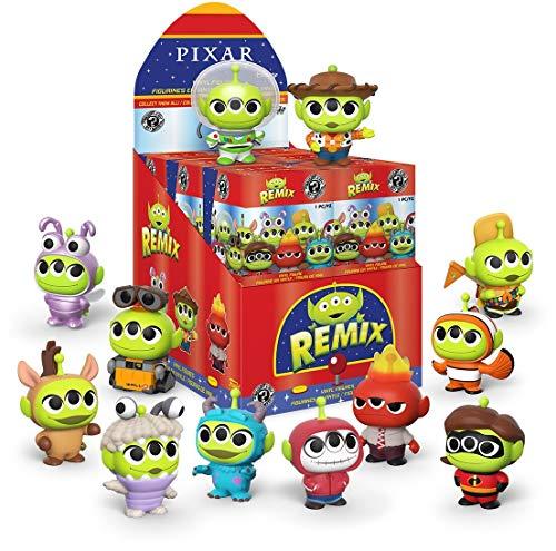 Funko 49094 Mystery Mini: Disney Pixar- Alien in Costumes Sammelbares Spielzeug, Mehrfarben