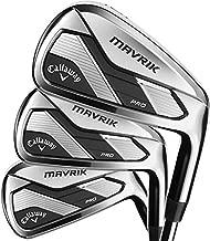 Callaway Golf 2020 Mavrik Pro Iron Set (Right Hand, Graphite, Stiff, 4 iron - PW)