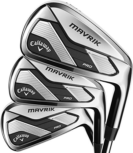 Callaway Golf 2020 Mavrik Pro Iron Set (Left Hand, Graphite, Regular, 3 Iron - PW)