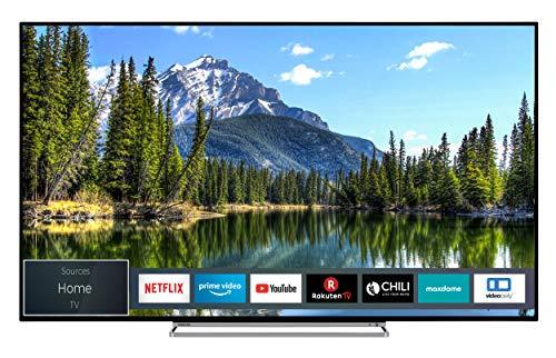 Toshiba 50VL5A63DG 126 cm (50 Zoll) Fernseher (4K Ultra HD, Dolby Vision HDR, TRU Picture Engine, Triple Tuner, Smart TV, Sound von Onkyo, Works with Alexa)