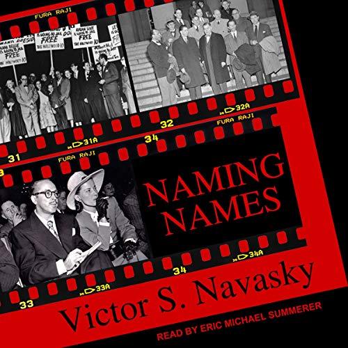 Naming Names audiobook cover art