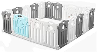 FCXBQ Baby Safety Park railing for children  safety barrier for babies  color  blue