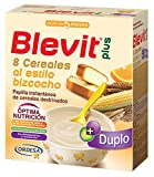 Blevit Plus Duplo 8 Cereales Al Estilo Bizcocho, 1 unidad 600 gr. A partir de los 5 meses.