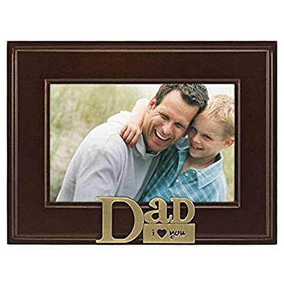 Malden I Heart Brass Word Grandma Picture Frame