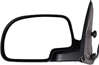 SCITOO Driver Left Door Mirror fit 2003-2007 Chevy Silverado Suburban Tahoe GMC Sierra Yukon (2007 Classic) Side Mirror Power Adjusted Heated Manual Folding (Driver Side)