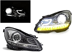 2012 2014 MERCEDES W204 C CLASS AMG LOOK XENON HID PROJECTOR