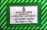 6x Atkinsons Seife Country Musk 125gr