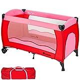 TecTake Cuna de viaje bebe plegable con bolsa de transporte - disponible en...