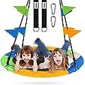 ZNCMRR 40 Inch Flying Saucer Tree Swing Set