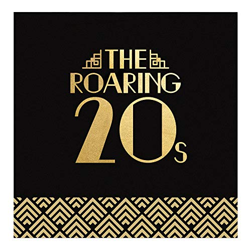 Lowest Price! Big Dot of Happiness Roaring 20's with Gold Foil - 2020 Graduation and Prom Party Supp...
