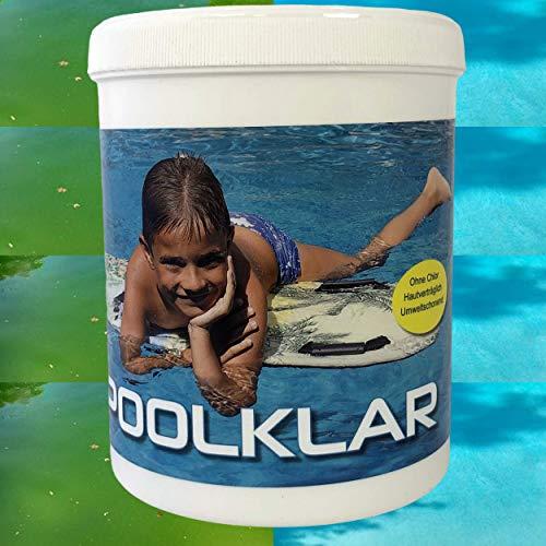 Flora Boost Poolklar - Gegen grünes und braunes Poolwasser - Bestens geeignet für Brunnenwasser
