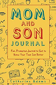 Mom and Son Journal  Fun Prompted Journal to Get to Know Your Teen Son Better  Fun Parent and Teen Bonding Journals