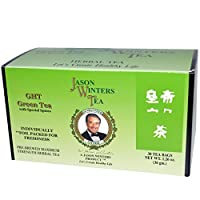 【3箱セット】Jason Winters Green Tea 30ct ジェイソンウィンウィンターズ グリーンティー30袋 並行輸入品