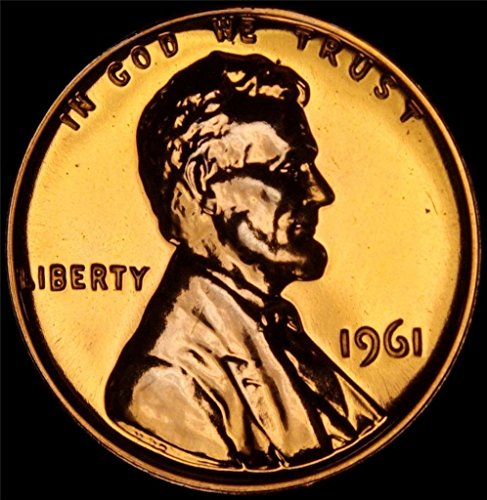 1961 Lincoln Memorial Penny Cent Gem Proof US Mint