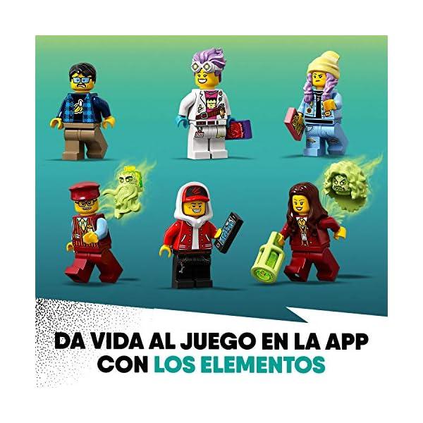 LEGO 70424 Juguete del Tren Lateral Oculto con aplicación AR, Juego Interactivo del Fantasma de la Realidad Aumentada…