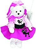 Chantilly Lane 'Olivia Bear with Poodle Skirt Sings You're The One That I Want Plush, 19'