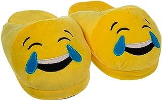 Emoji Cute Cartoon Slippers - Warm Cozy Soft and Funny Comfort - Slip Grip Bottoms Slipper
