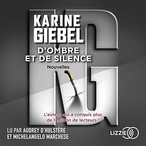 D'ombre et de silence audiobook cover art