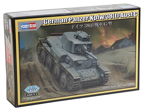 Hobby Boss 080137 1/35 Deutscher Panzer Kpfw. 38(t) AUSF. G Modellbausatz, verschieden