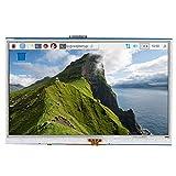 Nicoone Pantalla de 5 Pulgadas Pantalla Táctil Resistiva de 4 Cables Compatible con HDMI LCD Tablet ...