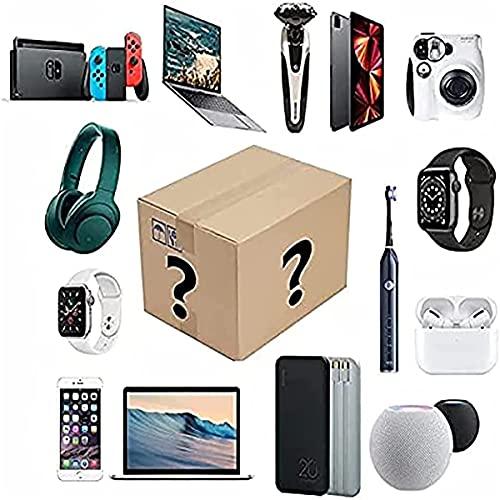 HIZQ Mystery Box, Elektronische Überraschungspaket Mysteriöse Schachtel Können Geöffnet Werden Die Neuesten Handys Drohnen Smartwatches Usw Ect Alles Ist Möglich