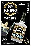 Rhino Glue, Heavy Duty 40 Gram Clear