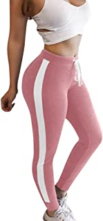 Qootent Women's Sports Yoga Pants Workout Gym Fitness Leggings Athletic Clothes