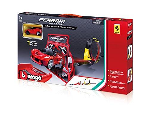 Bburago - 2043182 - Circuit De Voiture - Ferrari Gogears Loop & Race Challenge